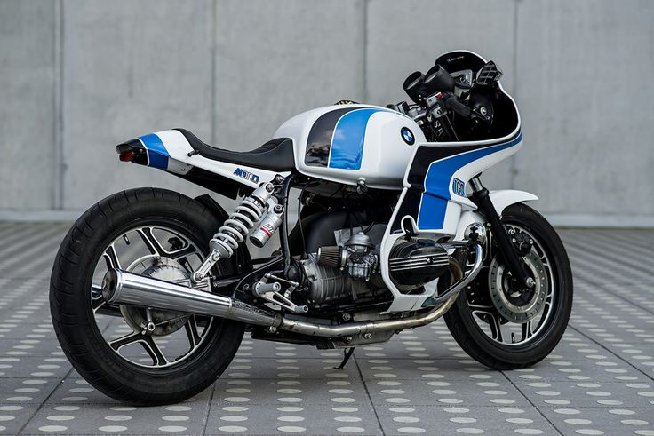 You're more likely find an BMW R100 RS fairing in a bin than on the street. But Luka Cimolini knows just how to massage it into something more appealing.