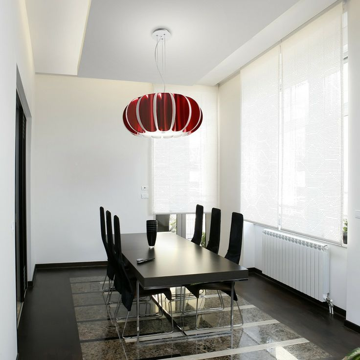 Pin By Ayleen Mayte D R On Diseño | Pinterest | Red Pendant Light, Pendant  Lighting And Lights