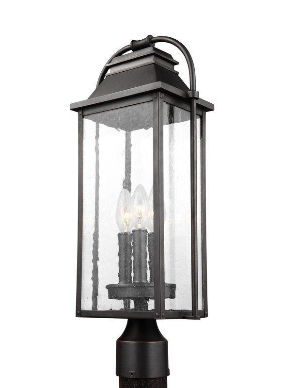 the laurel foundry modern farmhouse zelda 3 light lantern head in