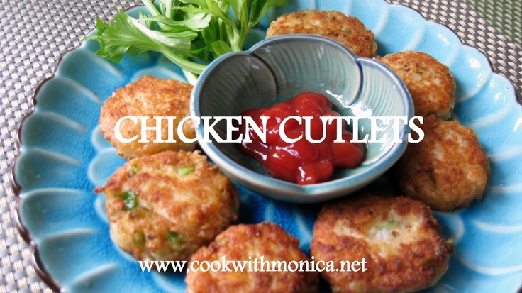 Chicken Cutlets | FOOD | Pinterest | Chicken Cutlets, Chicken and ...