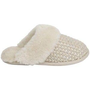 Just Sheepskin Knitted Mule Slippers