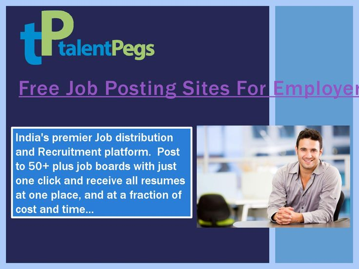 Browse this site http://www.talentpegs.com/ for more information on Free Job Posting Sites For Employers. Job Posting Sites gives you a foot in the front door that others may well not have had. If you want a heads up for what employment opportunities abound or if you simply are in the need of an employee for your business, Free Job Posting Sites For Employers is one of the very best places you can start your journey towards a more financially stable future. Follow us
