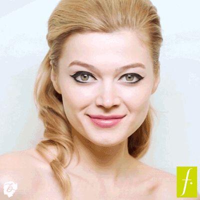 Pinea este estilo llamado Dramatic Cat Eye y participa por un set de belleza Benefit. #BenefitLinerChile