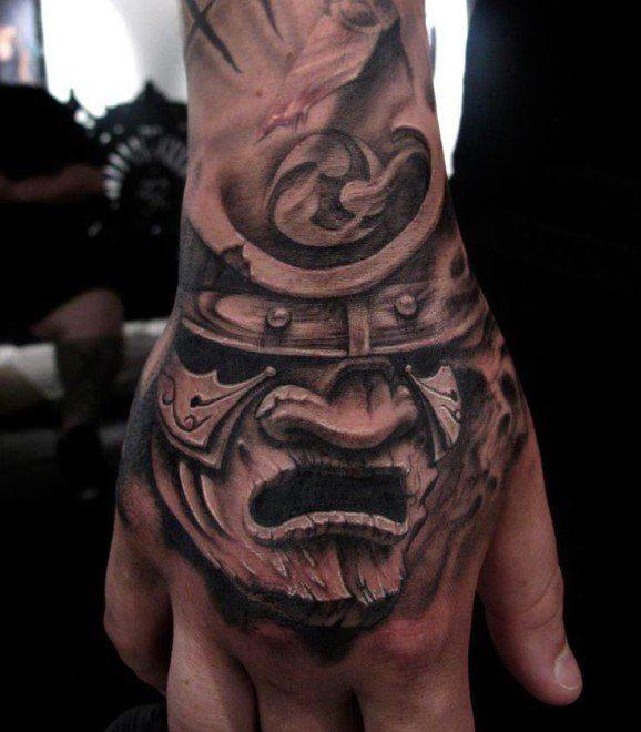 best 25 samurai mask tattoo ideas on pinterest oni tattoo hannya mask tattoo and japanese. Black Bedroom Furniture Sets. Home Design Ideas