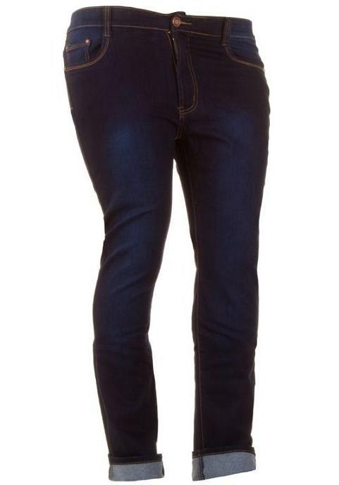 Skinny jeans grote maten spijkerbroek donker blauw 38-48 €21,95 http://www.ladymode.nl/dameskleding/dames-kleding-grote-maten/jeans-broeken-korte-broeken/ Skinny jeans grote maten 38 t/m 48 spijkerbroek voor dames in het donker blauw met een lichtere washing voor maar €21,95.