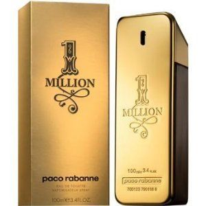 1 Million By Paco Rabanne for Men 3.4 Oz by Paco Rabanne. $214.57. Product Description1 Million Cologne by Paco Rabanne, Inspired by rabanne's metallic fashions,1 million wa in particular a 1967 dress worn by singer fran?oise hardy. The fragrance was developed by perfumers olivier pescheux, christophe raynaud and michel girard, and features notes of fragrance include grapefruit, rose, cinnamon, spice notes,mint, blood orange, blond leather, white woods, amber an...