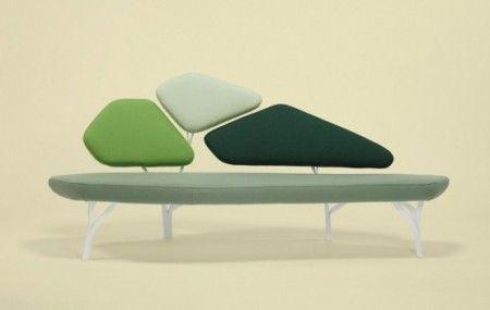 Borghese Sofa; Noah Duchaufour Lawrance