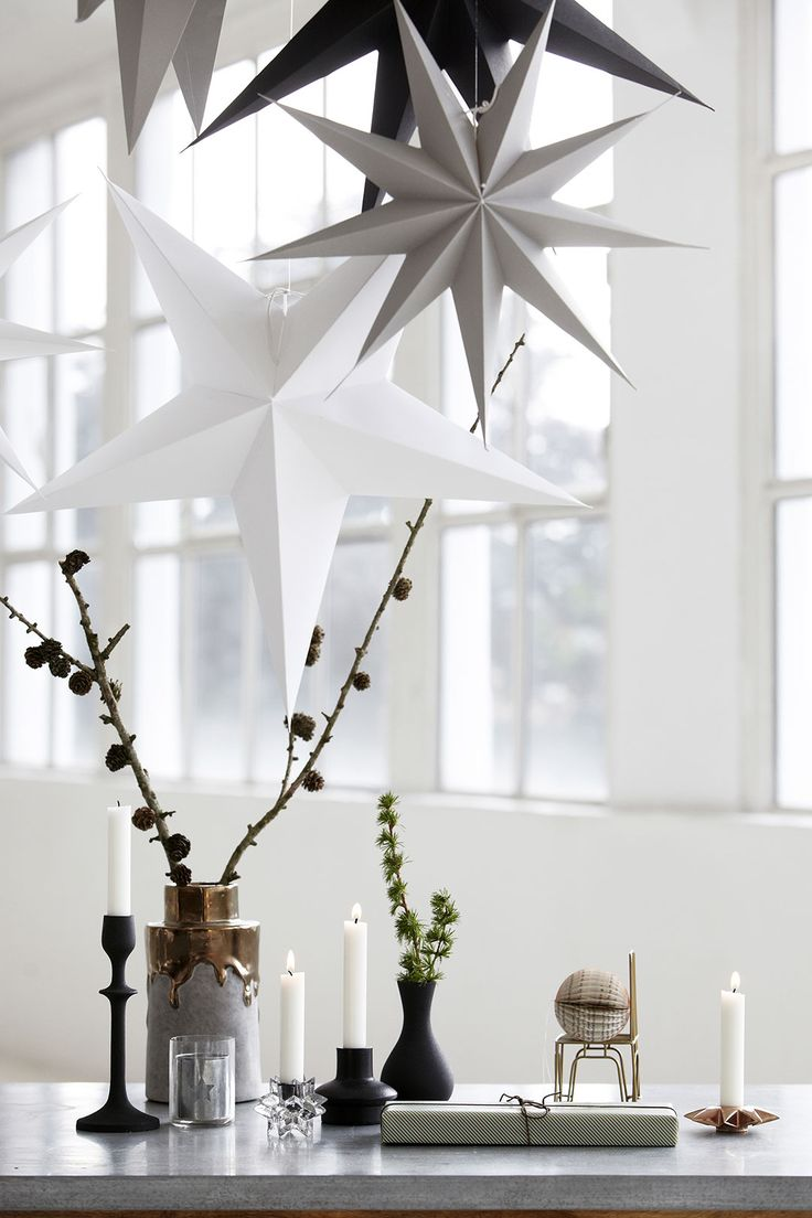 Минималистские рождественские украшения |  @styleminimalism