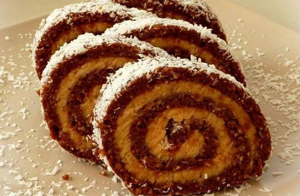 A legfinomabb keksztekercs, kókuszkrémmel a közepén | femina.hu
