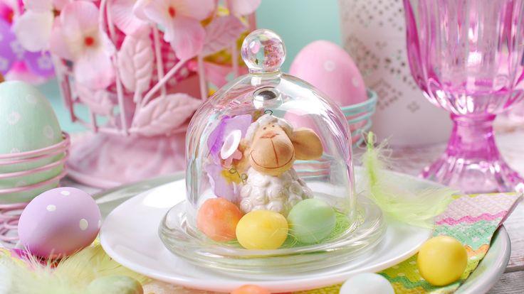 Скачать обои цветы, eggs, spring, Happy, flowers, Пасха ...
