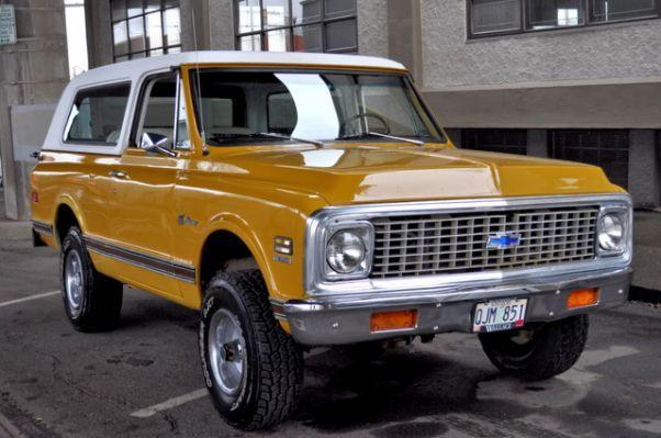 Auto Parts Blazer K5 1972 Ebay Chevrolet Blazer K5 Blazer