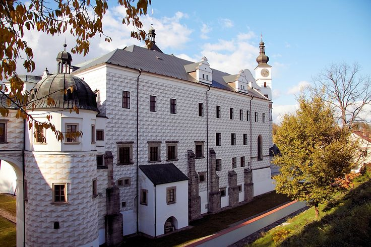 Pardubice castle - Pardubice; German: Pardubitz is a city in the Czech Republic. It is the capital city of the Pardubice Region and lies on the river Elbe, 96 kilometres east of Prague. There is an old Tower and a Castle. The oldest extant Document regarding Pardubice comes from 1295.