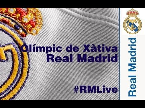 Ver #RMLive: ONCE INICIAL / LINE UP: Olímpic de Xàtiva  Real Madrid