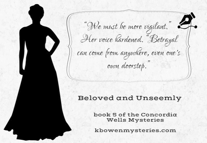 Day 9 quote...almost there!  http://kbowenmysteries.com/posts/the-twelve-days-of-concordia-giveaway/