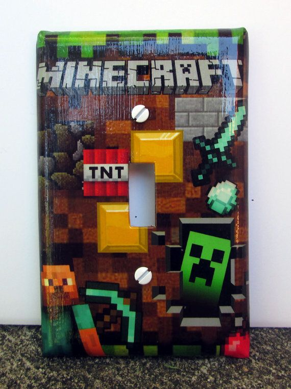 Hey, I found this really awesome Etsy listing at https://www.etsy.com/listing/158880616/handmade-minecraft-switch-plate-cover