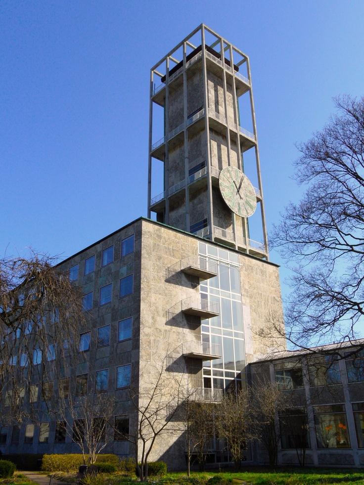 Arne Jacobsen, Aarhus City Hall, Denmark