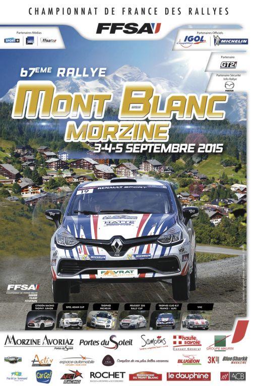 67ème Rallye Mont-Blanc Morzine, Morzine (74110), Rhône-Alpes