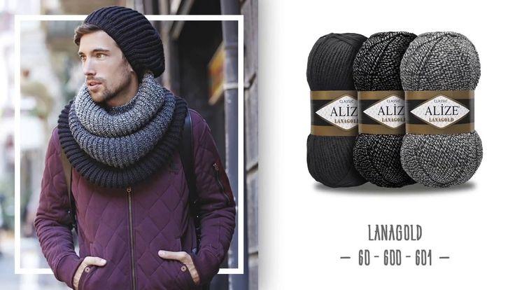 Katlı boyunluk ve şapka yapımı - Knit a folded Neck collar and hat