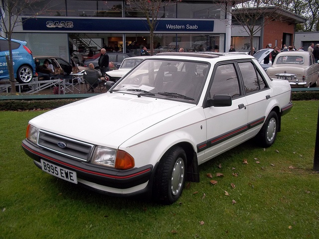 Ford Orion.1600cc was fast car...great drive..Ghia model really nice