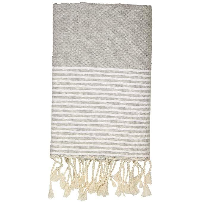 Amazon Com Ffsense Fouta Turkish Beach Towel 100 Cotton 39 X