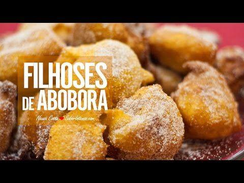 Receita de Filhóses de Abóbora - YouTube