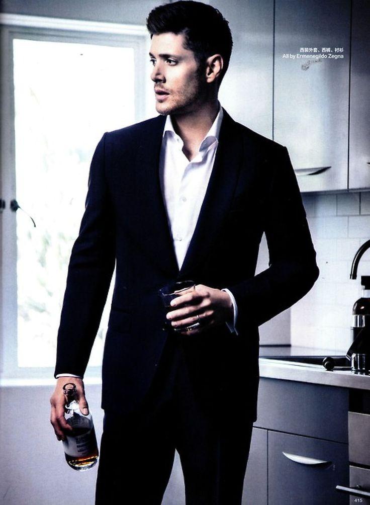 Jensen Ackles in Harpers Bazaar China Sept issue