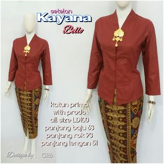 Baju Batik Kerja Wanita, Grosir Batik Solo, Baju Batik Pria: Kebaya Wisuda, Kebaya Batik Modern, Kebaya Kutu Ba...
