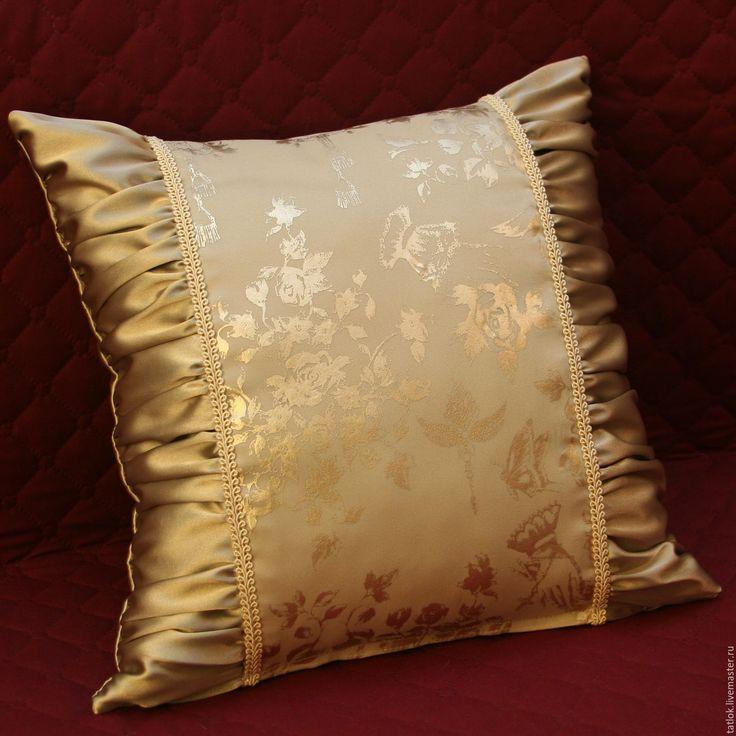 """Купить Подушка """"Маркиза"""" - декоративная подушка, подарок на день рождения, подарки ручной работы"""