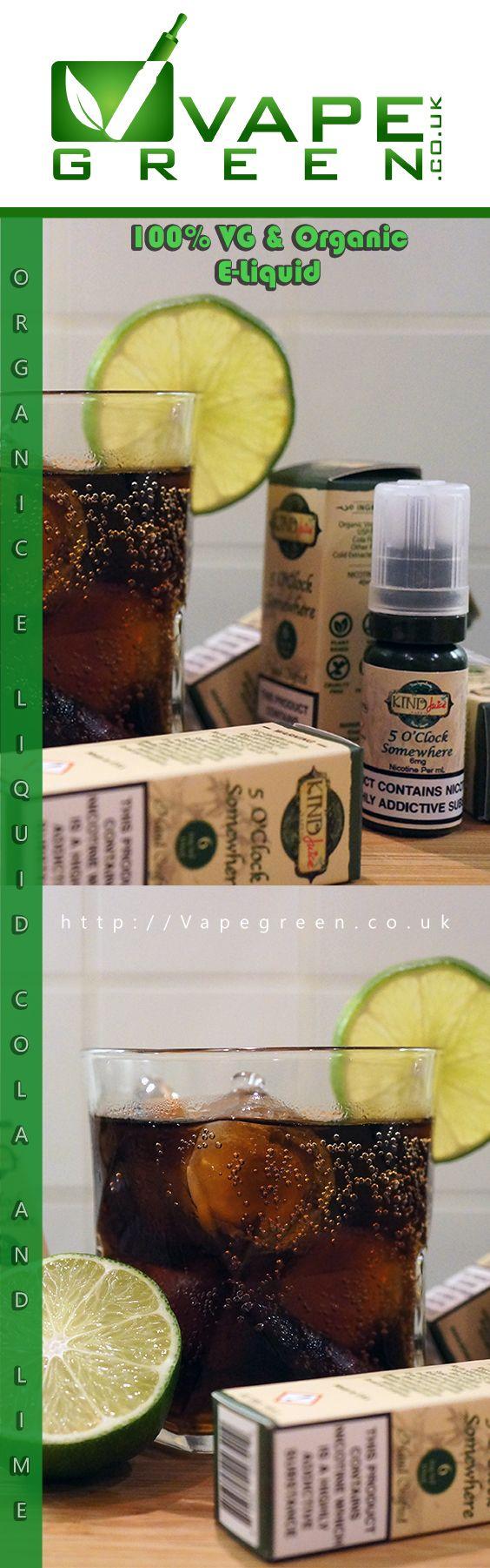 Super Tasty Cola and Lime e-liquid from Kind Juice, 100% VG and Organic Flavoured. Buy now at VapeGreen.co.uk #vape #vaping #eliquid #ejuice #ecig #kindjuice #vapegreen #vapeuk #ukvapers #vapefam #cola #lime #organic #100vg