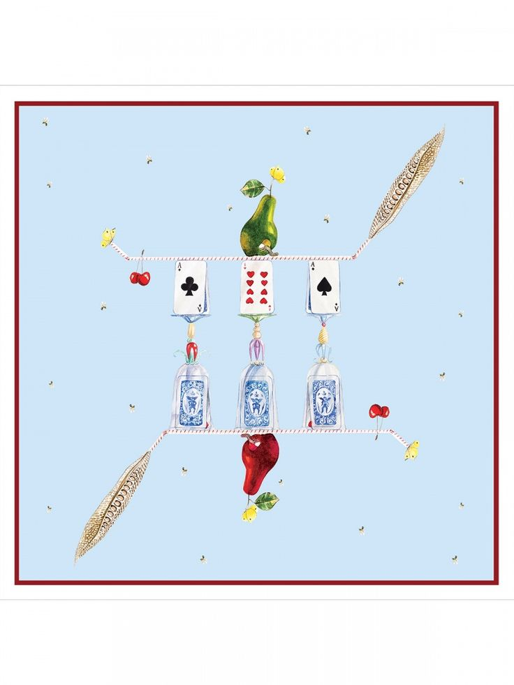 La Chance scarf – Hamid Nicola Katrib