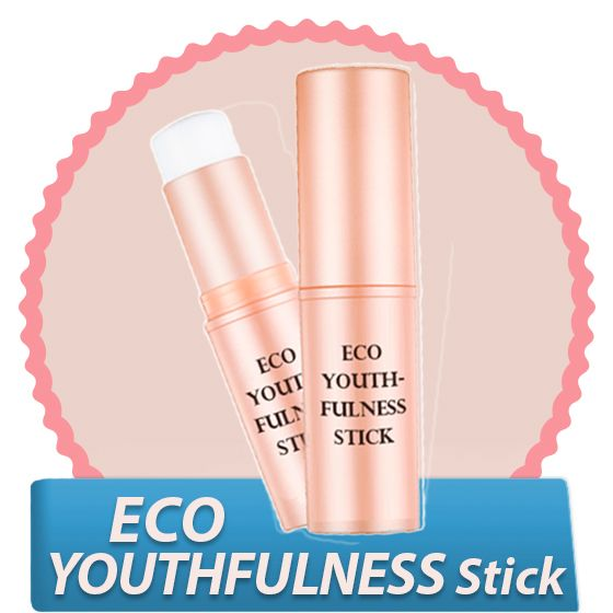 Омолаживающий стик для кожи лица Eco Youthfulness Stick
