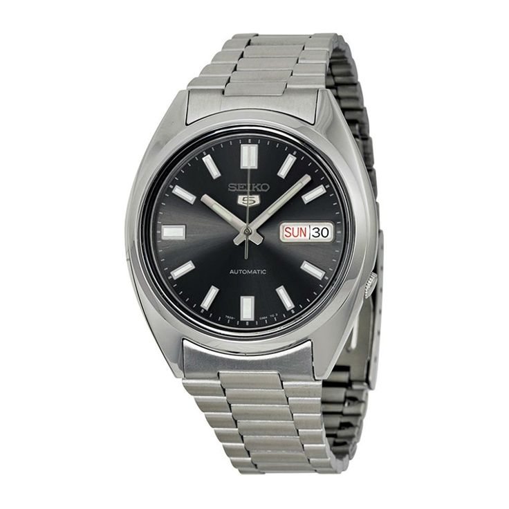 Amazon.com: Seiko 5 Automatic Gents Stainless Steel Watch, Black Dial - SNXS79J1 - (Made in Japan): Seiko: Clothing