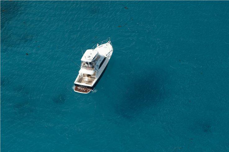 uShaka idling in the clear waters of Seychelles...