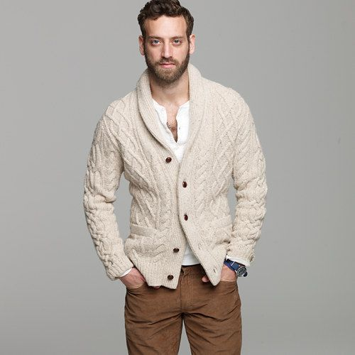 107 best men cardigan fashion style images on Pinterest ...