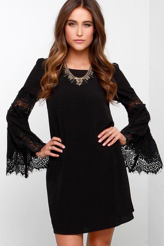 Black dress lulus local eatery