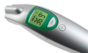 Medisana FTN – Termómetro por infrarrojos para bebés que no necesita contacto