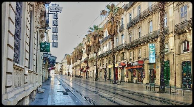 Rue Maguelone à Montpellier