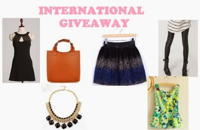 Do you want to win one of these nice products?  Fashion Memos: International Giveaway with SammyDress
