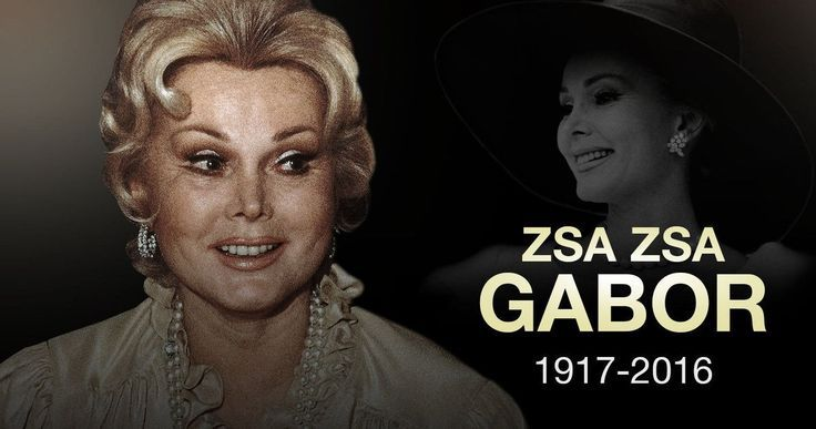 Zsa Zsa Gabor Passes Away at 99 -- Hollywood icon Zsa Zsa Gabor passed away at 99 years of age, after suffering an apparent heart attack. -- http://movieweb.com/zsa-zsa-gabor-dead-rip-obituary/