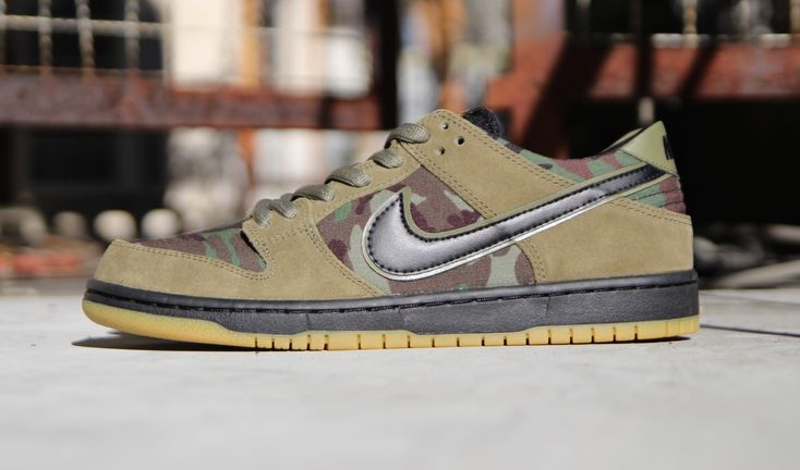 Now Available: Nike SB Dunk Low Pro Skate Camo