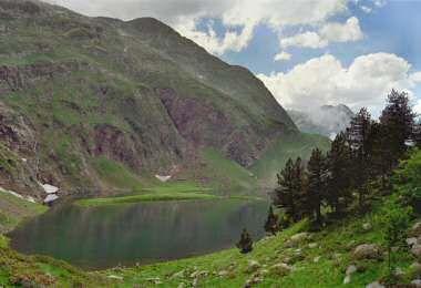 Lac vert vallée du Lis