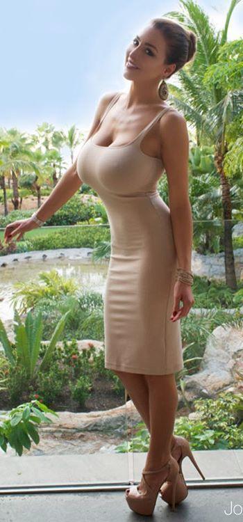 Small tits in dress-9537