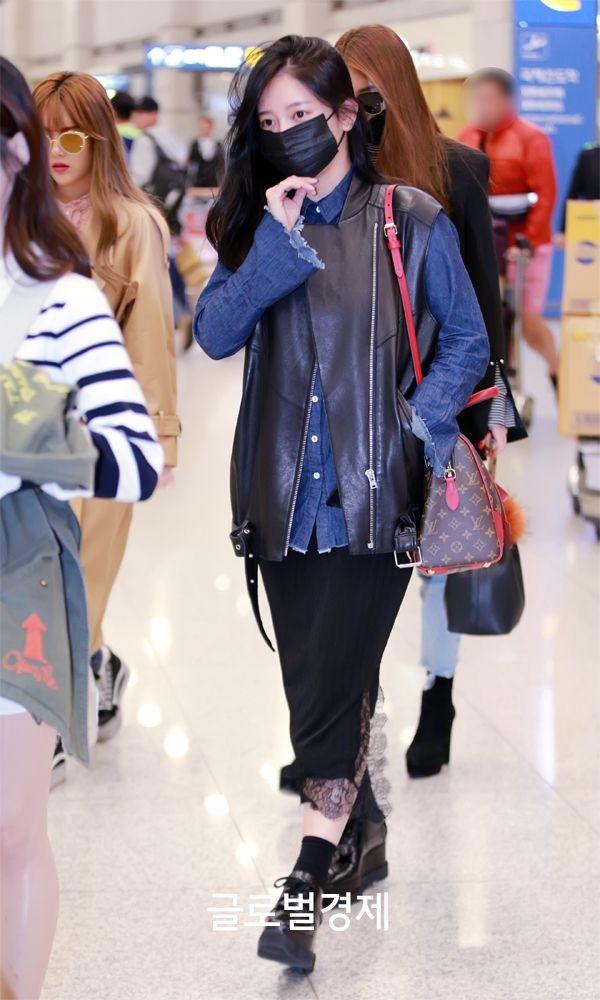 걸그룹 티아라(T-ARA) 소연이 2일 오전 태국 방콕에서 스케줄을 마치고 인천국제공항을 통하여 입국하였다.