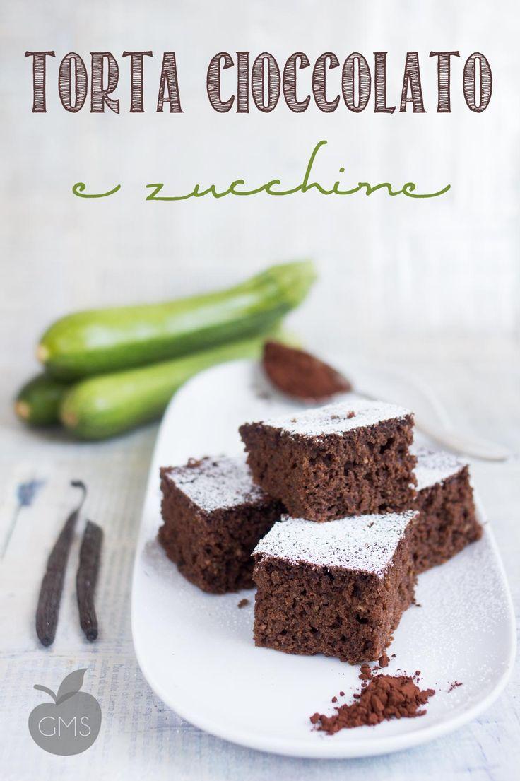 Torta al cioccolato con le zucchine - Il Goloso Mangiar Sano
