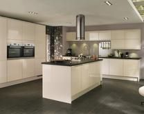 New kitchen, trying to decide on colour, this is cream that I already have!! This one or the grey??