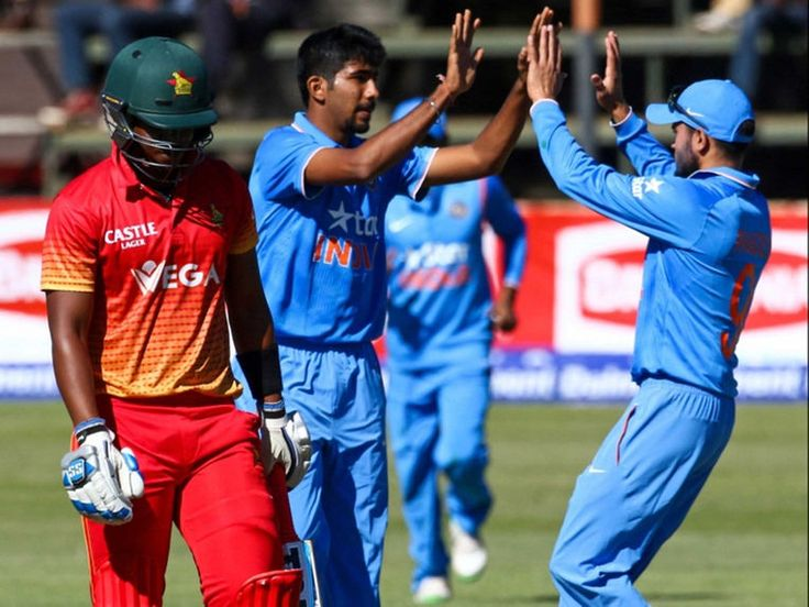 Jaspreet bumrah restricted Zimbabwe at 168/10 by taking 4 wickets.and Indian Cricket Team won by 9 wickets against #Zimbabwe on 11th June. #ICC #INDvZIM #ZIMvIND #ZIM #IND #Cricketnews
