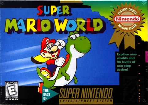 Super Mario World is hands down my all time favorite Mario game. It also happens to be Shigeru Miyamoto's favorite as well.