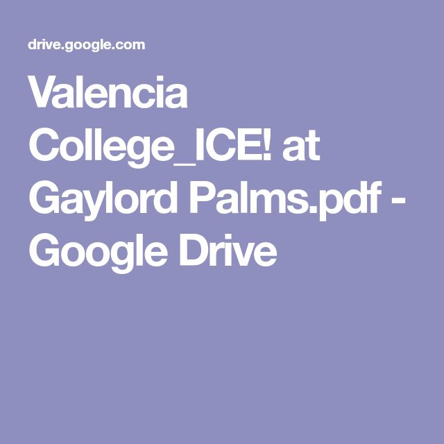 Valencia College_ICE! at Gaylord Palms.pdf - Google Drive