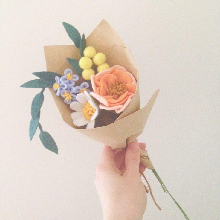 Felt Flowers by Dear May