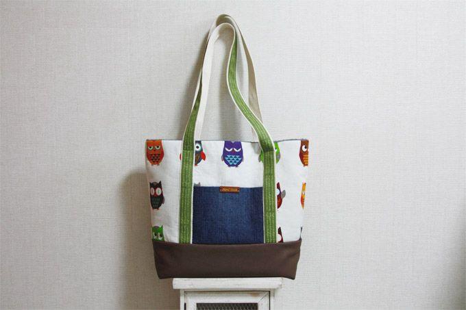 Easy Canvas Tote Bag with Pocket. Step by step DIY Tutorial. Холщовая  сумка  с карманом. МК.
